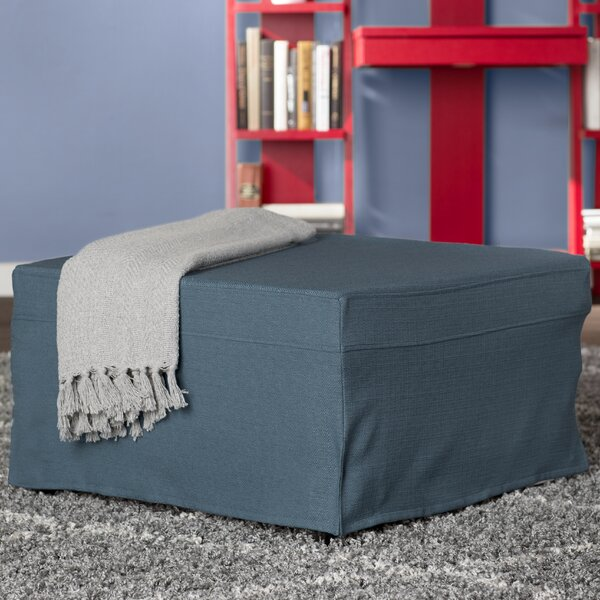 Read Reviews Fryberg Cube Ottoman