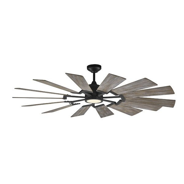 62 Kucharski 14 Blade LED Ceiling Fan by Bayou Breeze