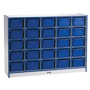 25 Compartment Cubby with Trays ByJonti-Craft