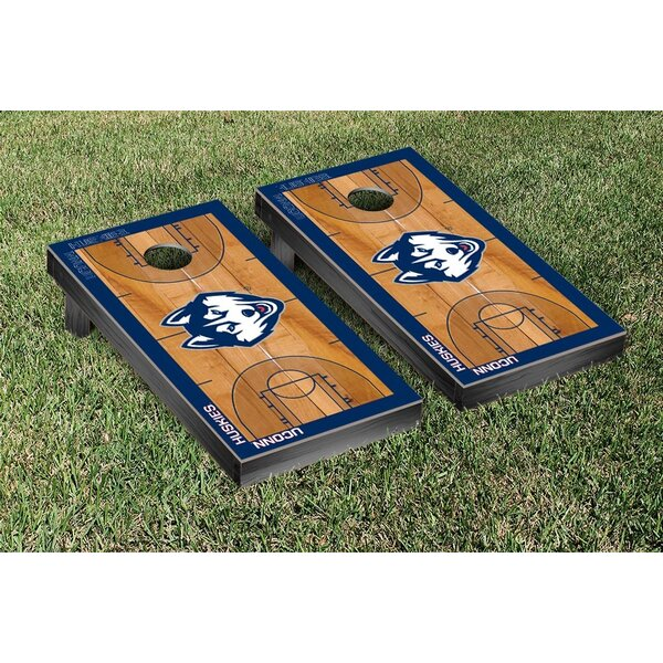 NCAA Basketball Court Cornhole Game Set by Victory Tailgate