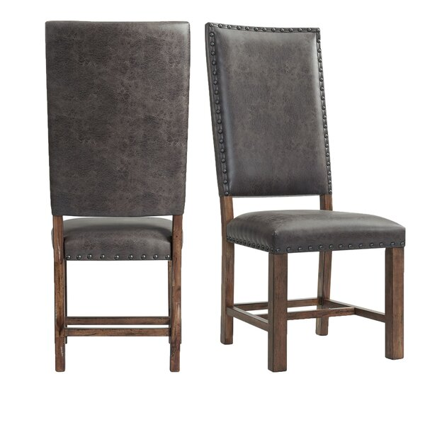 Gehring Side Chair In Walnut (Set Of 2) By Alcott Hill