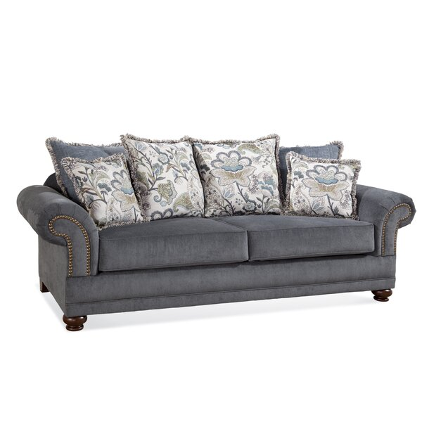 Serta Upholstery Sofa With Pillows By Darby Home Co Best