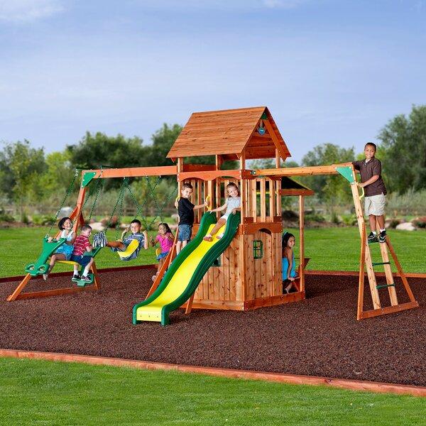 Saratoga Swing Set by Backyard Discovery