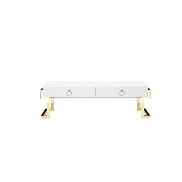 Julia Frame Coffee Table with Storage by Willa Arlo Interiors Willa Arlo Interiors