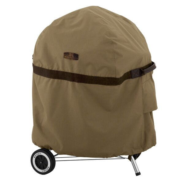 Hickory Heavy-Duty Kettle BBQ Cover by Classic Accessories