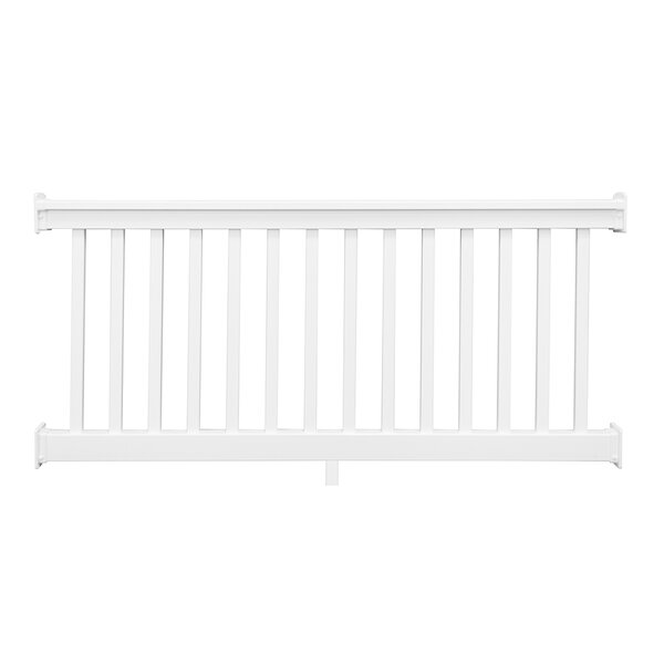Heavy Duty Sefton Straight Railing by Vinyl Fence Wholesaler