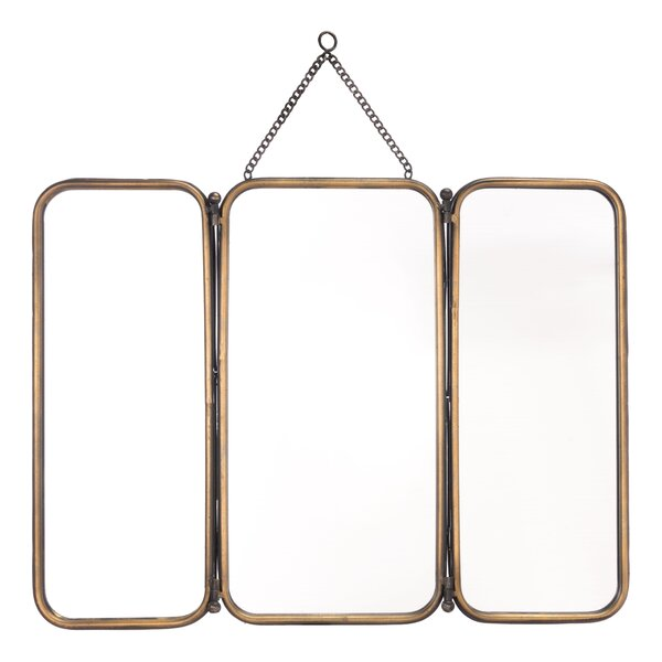 Zhe Tri Accent Mirror by 17 Stories