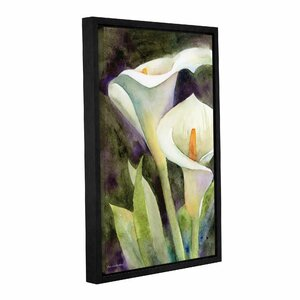 Calla Lily Framed Painting Print by Alcott Hill