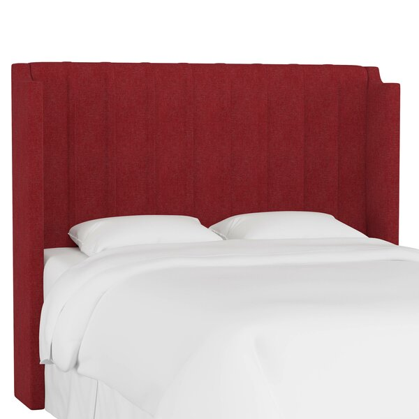 Kandy Upholstered Wingback Headboard by Everly Quinn