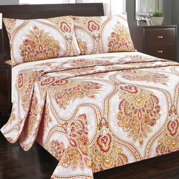 Sunshine Festival Flat Sheet by Tache Home Fashion