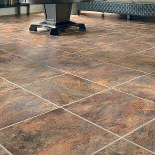 Stone Slate Look Vinyl Flooring Youll Love Wayfair - Fake stone floor tiles