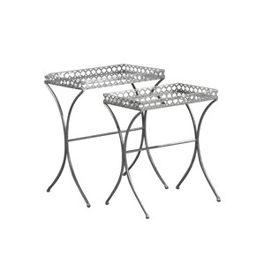 Merchant 2 Piece Nesting Tables by House of Hampton