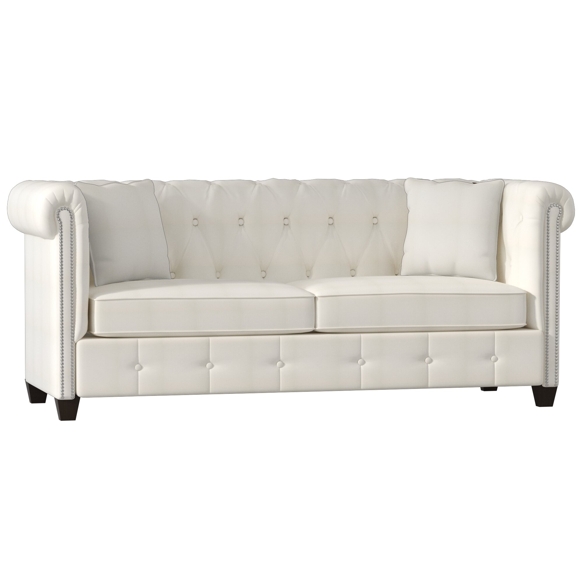 Wayfair Custom Upholstery Josephine Tufted Chesterfield Sofa Reviews