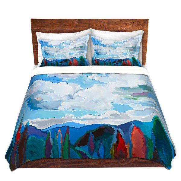 Color and Clouds Duvet Cover Set