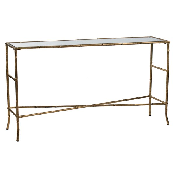 Vickie Console Table - Antique Gold by Mercer41 Mercer41