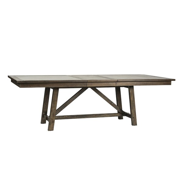 Veeder Trestle Dining Table by Loon Peak