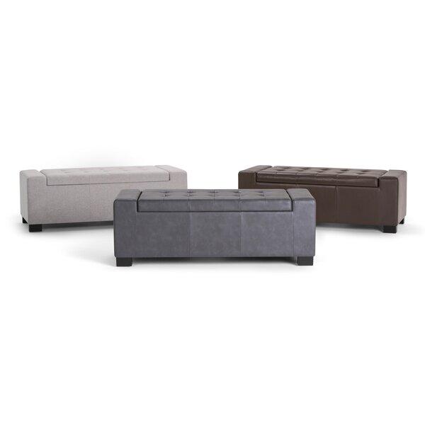 Asdsit Upholstered Storage Bench by Latitude Run