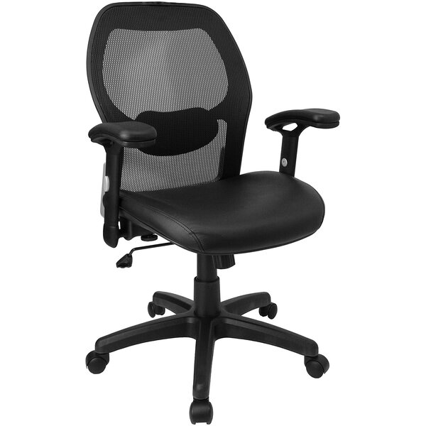 Yearwood Super High-Back Mesh Desk Chair by Symple Stuff