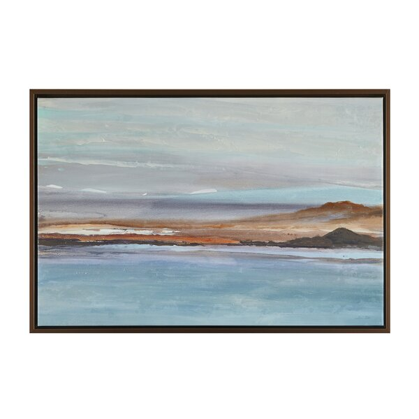 Sea to Sky 1 Framed Painting Print by Highland Dunes