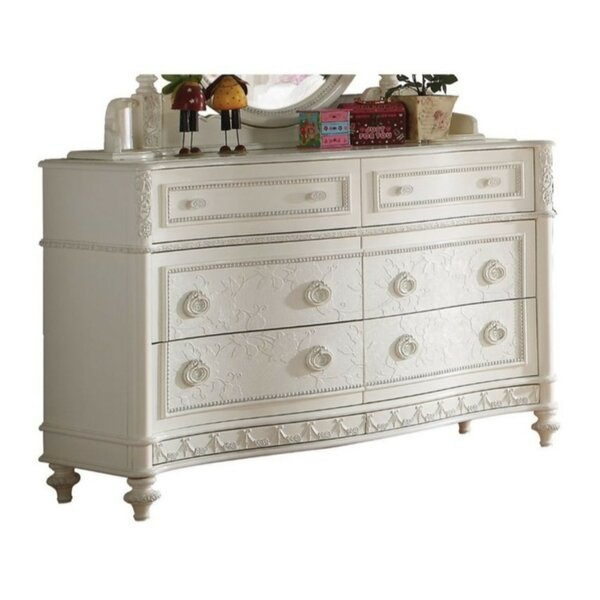Weaubleau Wood 6 Drawer Double Dresser by Rosdorf Park
