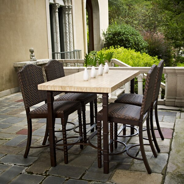 San Marco Counter Height 5 Piece Dining Set by Peak Season Inc.