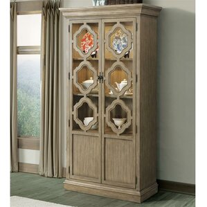 Virgouda Lighted China Cabinet by Gracie Oaks