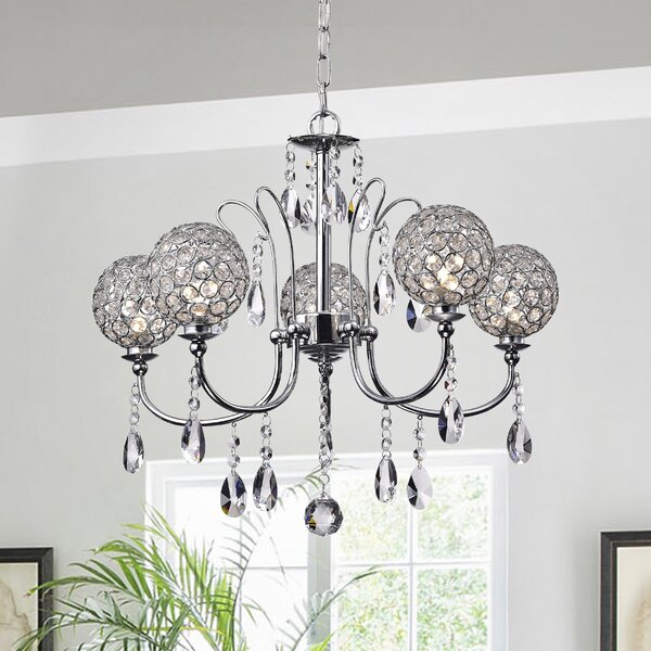Brinsmead 5-Light Shaded Classic / Traditional Chandelier by House of Hampton House of Hampton