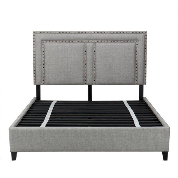 Ostrander Upholstered Platform Bed by Bungalow Rose