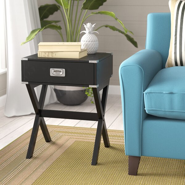 Grable End Table with Storage by Breakwater Bay