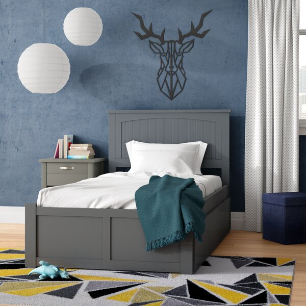 Whitcher Twin Platform Bed with Urban Trundle by Viv + Rae