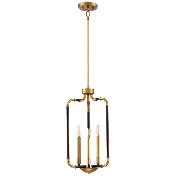 Jairo 3-Light Lantern Pendant by Langley Street
