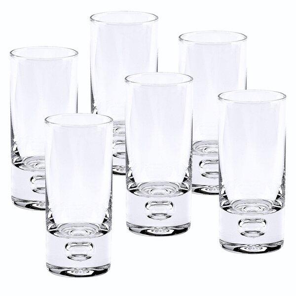 Stefany 3 oz. Crystal Shot Glass (Set of 6) by Orren Ellis