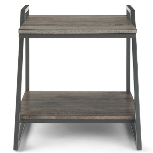 Straun End Table by Union Rustic Union Rustic