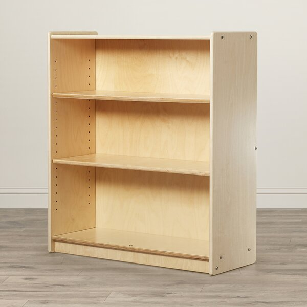 Clarendon 3 Compartment Bookshelf by Symple Stuff