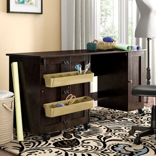Degory Engineered Wood Sewing Table by Andover Mills