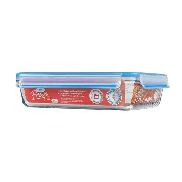 Fresh Rectangular Glass 66.6 Oz. Food Storage Container by Zyliss