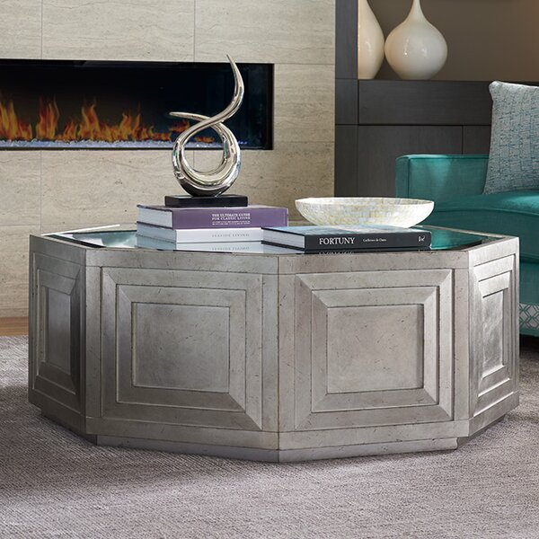 Ariana Rochelle Octagonal Coffee Table by Lexington