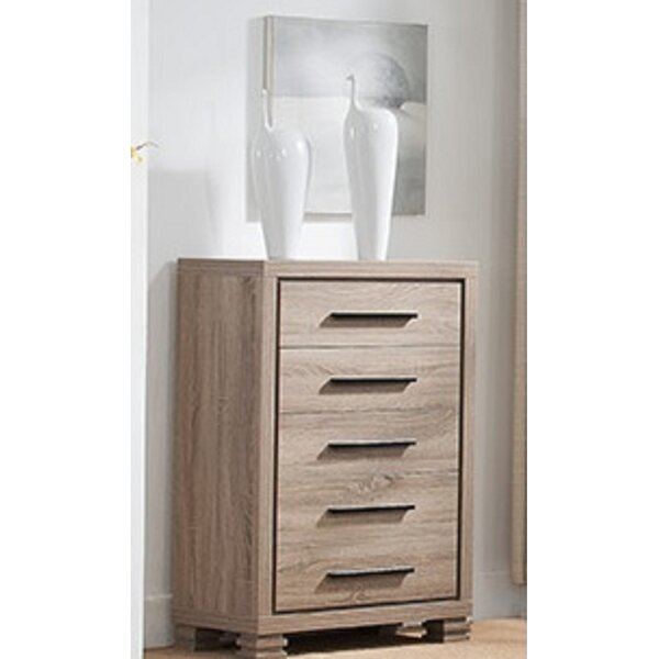 Castelnaud 5 Drawer Chest by Wrought Studio