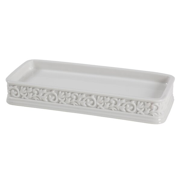 Cosmopolitan Bathroom Accessory Tray by Creative Bath