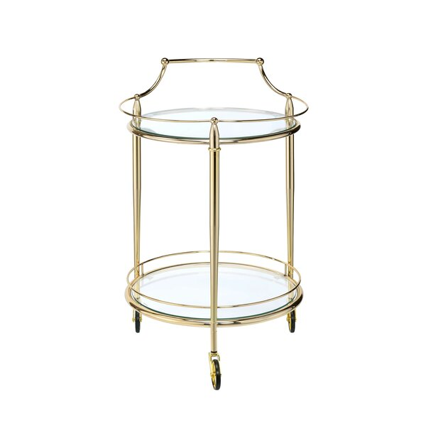 Madelia Bar Cart by House of Hampton