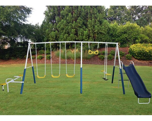 Up Down/All Around Swing Set by XDP Recreation