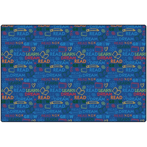 Read to Dream Kids Area Rug by Carpets for Kids