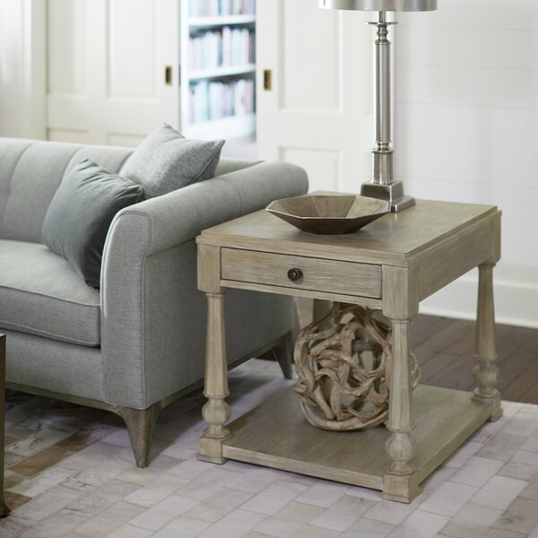 Santa Barbara End Table With Storage By Bernhardt
