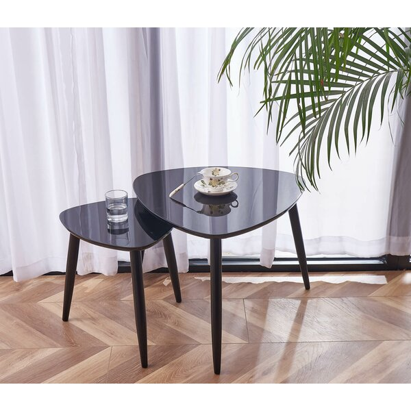 Reynold 2 Piece Coffee Table Set by George Oliver George Oliver