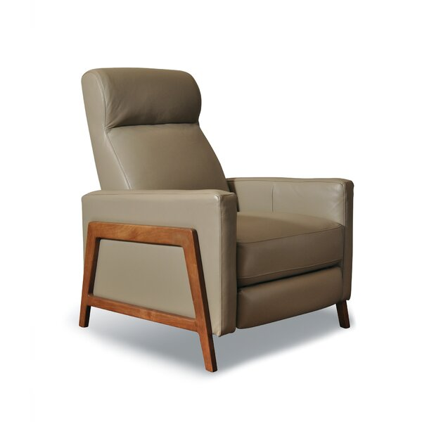 Corby Leather Manual Recliner by Corrigan Studio
