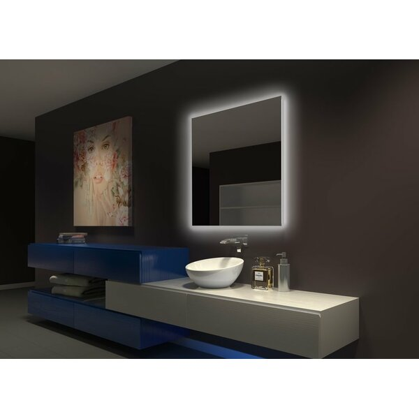 Tenley Original Backlit Bathroom Mirror by Latitude Run