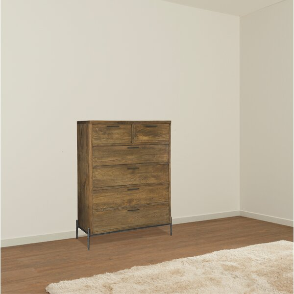 Aliceville 6 Drawer Standard Chest by Foundry Select
