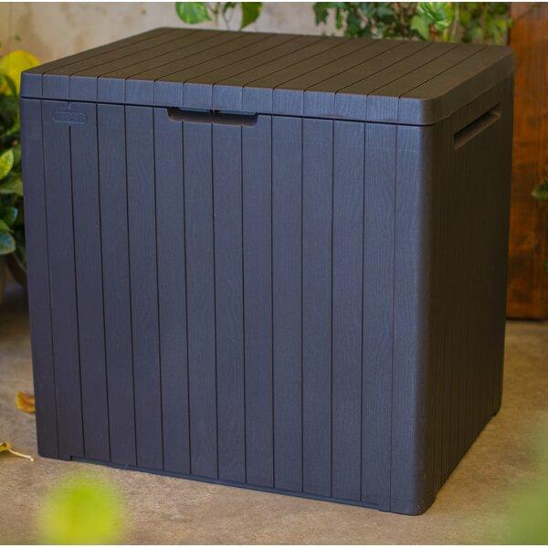 City 30 Gallon Plastic Deck Box By Keter