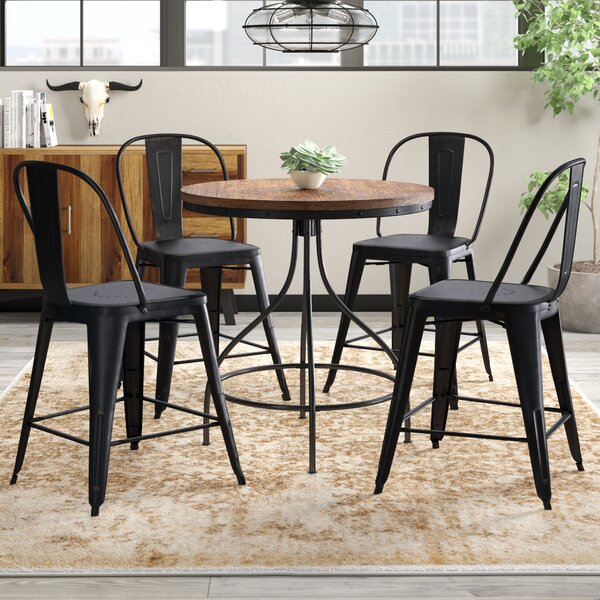 Fauntleroy 5 Piece Pub Table Set by Trent Austin Design