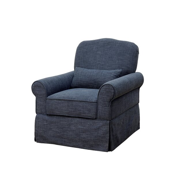 Natalya Swivel Armchair by August Grove
